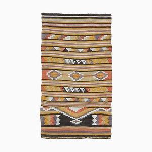 Vintage Turkish Kilim Doormat