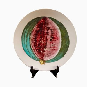 Vintage Sezioni di Frutta Plate by Piero Fornasetti