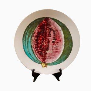 Vintage Sezioni di Frutta Plate by Piero Fornasetti