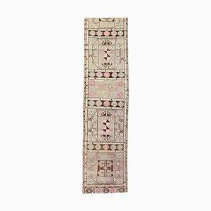 Handgemachter Antiker Türkischer Wollteppich