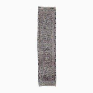Handgeknüpfter türkischer Vintage Teppich in Lila