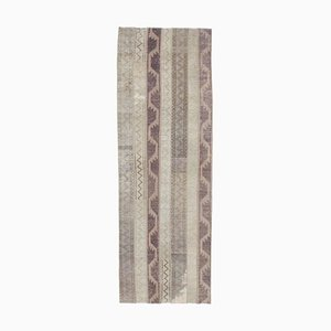 Patchwork Vintage Turkish Handmade Wool Rug