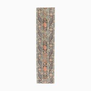 Handgeknüpfter schmaler türkischer Vintage Wollteppich