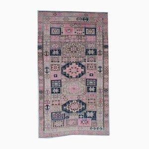 Handgemachter türkischer Vintage Wollteppich