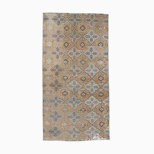 Vintage Turkish Orange Carpet