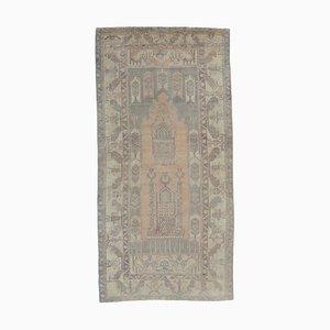 Antique Middle Eastern Handmade Wool Runner