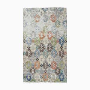 Türkischer Floraler Vintage Teppich