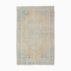 Handgeknüpfter antiker türkischer Teppich aus Wolle