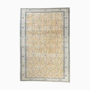 8x12 Vintage Turkish Oushak Handmade Wool Boho Decor Rug