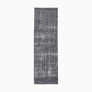 Tappeto Oushak vintage fatto a mano con lana, 2x8