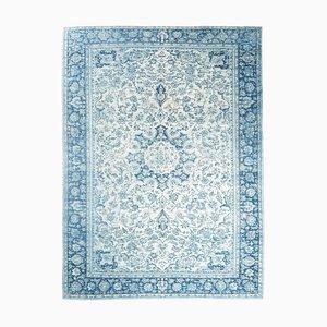 9x12 Vintage Teppich Oushak Handgeknüpfter Übergroßer Teppich aus Wolle