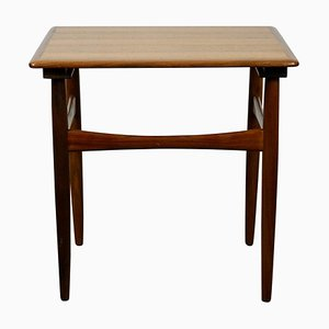 Tavolino in teak di Poul Hundevad, Scandinavia