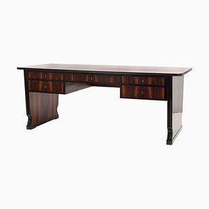 Large Austrian Art Deco Rosewood Writing Desk