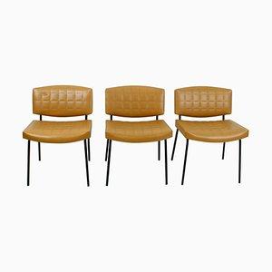 Mid-Century Stühle von Pierre Guariche für Meurop, 3er Set
