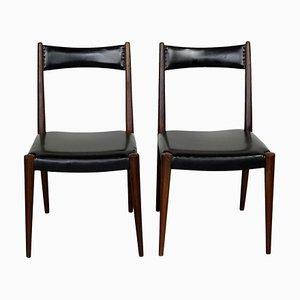 Austrian Mid-Century Beech Dining Chairs by Anna Lülja Praun, Set of 2