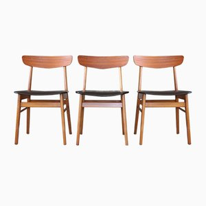 Mid-Century Danish Teak Dining Chair from Farstrup Møbler, 1960s
