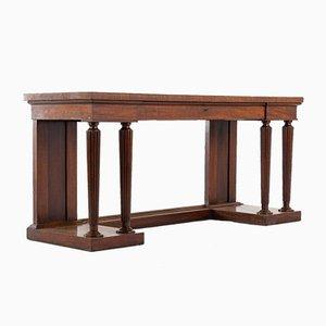 Mesa auxiliar Regency estilo Gillows de caoba
