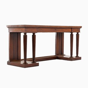 Table d'Appoint Regency Gillows en Acajou