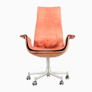 Mid-Century Red Tulip Lounge Chair by Preben Fabricius & Jørgen Kastholm for Kill International