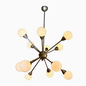 Lámpara de techo Sputnik, años 70