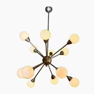 Sputnik Ceiling Lamp, 1970s