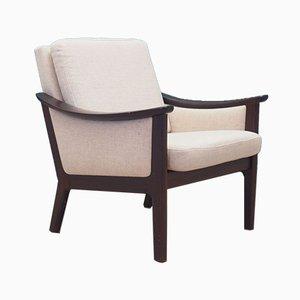 Dänischer Beiger Sessel, 1970er