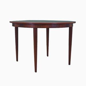 Mesa de comedor danesa de palisandro, años 60