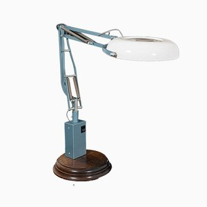 English Industrial Magnifier Lamp, 1960s