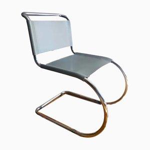 Silla MR10 de Mies Van Der Rohe para Knoll, años 80
