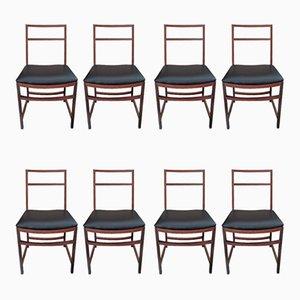 Esszimmerstühle von Renato Venturi für MIM, 1950er, 8er Set