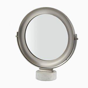Espejo de mesa Narciso de Sergio Mazza para Artemide, años 60