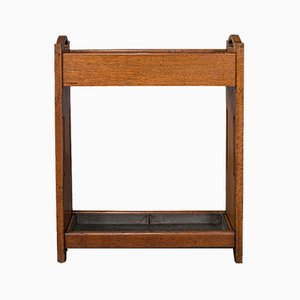 Antique English Liberty Style Hallway Stand, 1920s