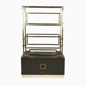 Vintage French Brass Shelf by Guy Lefevre for Maison Jansen, 1970s