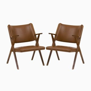Mid-Century Armchairs from Vera, Set of 2