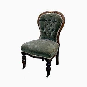 Chaise Haute Victorienne en Acajou, 1800s