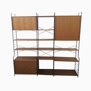 Freestanding Modular Shelving Unit from WHB, 1960s, Set of 34