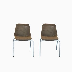 Desk Chairs from MIM Roma, 1960s, Set of 2