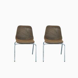Schreibtischstühle von MIM Roma, 1960er, 2er Set