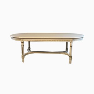 Large Antique Gustavian Dining Table