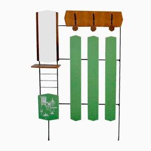 Italian 3-Hook Coat Rack, 1960s
