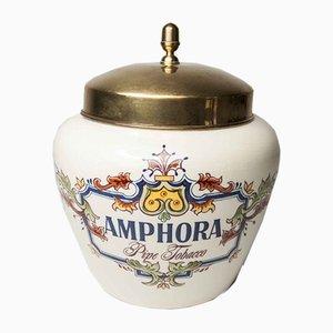 Niederländische Keramik Snuff Box von Zenith Gouda, 1960er