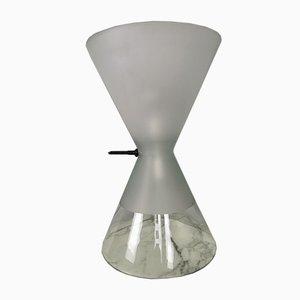 Sanduhrförmige Ambigua Tischlampe von Guido Rosati für Fontana Arte, 1977