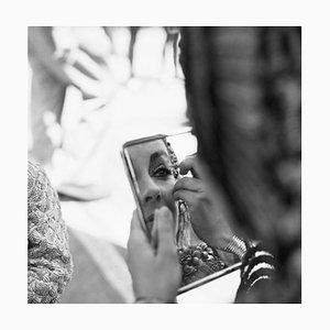 Stampa Elizabeth Taylor In Iniant Pigment Print Framed In Black di Bettmann