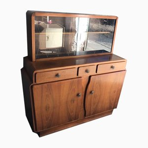 Art Deco Curved Cabinet, 1930s