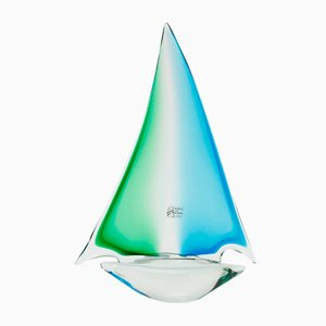 Vintage Murano Glass Boat from Rubelli