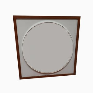 Large Modernist Mirror by Alfred Hendrickx for Belform, 1960s