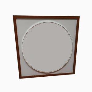 Specchio grande modernista di Alfred Hendrickx per Belform, anni '60