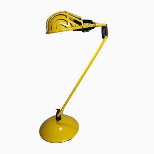 Yellow Igloo Table Lamp by Tommaso Cimini for Lumina, 1980s