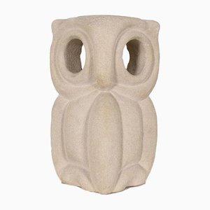 Stone Owl Tischlampe von Albert Tormos, 1970er