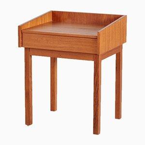 Dänischer Teak Nachttisch, 1960er